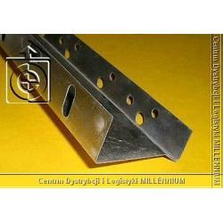 Listwa startowa 53 mm - profil cokołowy 5 cm L=2.0 mb