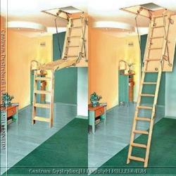 schody składane 120x60cm płyta wiórowa H=270cm