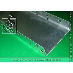 Listwa startowa 83 mm - profil cokołowy 8 cm L=2.0 mb