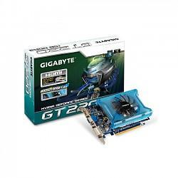 GeForce with CUDA GT220 Gigabyte 1GB HDMI & DVI (PCI-E) OC (DDR3)
