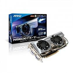 GeForce with CUDA GTX 560Ti MSI TWINFROZ OC 1024MB (PCI-E) TWINFROZ OC