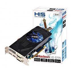 Radeon 6770 HIS FAN 1GB HDMI/2xDVI/2xMini DP (PCI-E)