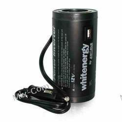 Whitenergy Przetwornica DC/AC 12V do 230V 120W, port USB