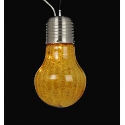 PIĘKNA LAMPA WISZĄCA CASALUCE KSZTAŁT ŻARÓWKA