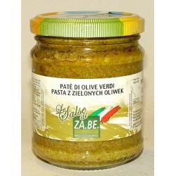 Pasta z zielonych oliwek - 190g