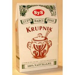 Krupnik - 100% naturalne składniki