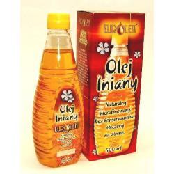 Olej lniany 0,5l