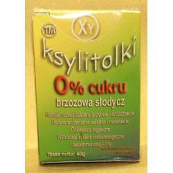 Cukier brzozowy w drażetkach - KSYLITOLKI - miętowe
