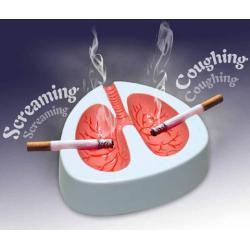POPIELNICZKA  KASZLĄCA - cierpiące płuca palacza...