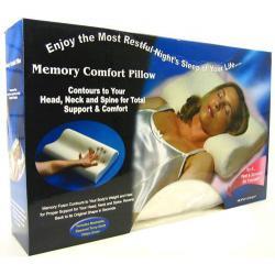Poduszka COMFORT MEMORY - pianka z pamięcią...