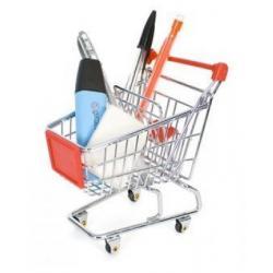 Mini wózek sklepowy - na drobiazgi...
