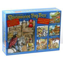 Carcassonne BIG BOX (podstawka + 5 dodatków)