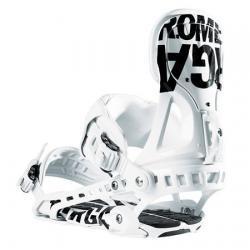 Wiązania snowboardowe Rome Targa (white)