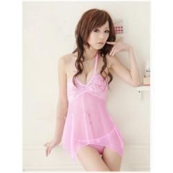 Bielizna nocna Japan Style różowa 4C5C-59670