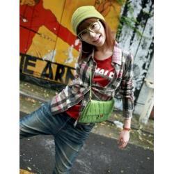 Bluzka Japan Style czerwona DB55-6101D