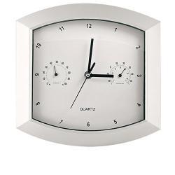 Zegar ścienny z termometrem -min. zamówienie 5 szt.