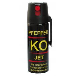 Gaz obronny pieprzowy KO FOG 50 ml - strumień