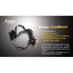 Montaż do latarki fenix na głowę - Fenix Headband