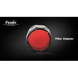 Filtr czerwony do latarki Fenix seria LD/PD