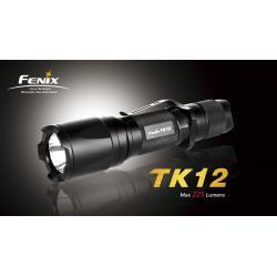 Latarka diodowa Fenix TK12 LED R2 kolor czarny