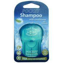 SeaToSummit - kieszonkowy szampon z odżywką w listkach