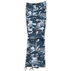 Spodnie US Ranger blue camo Surplus