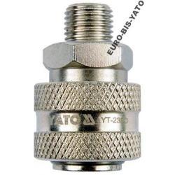 Szybkozłącze gwint zewnętrzny 1/4'' YATO YT-2390