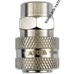 Szybkozłącze gwint wewnętrzny 1/4 YATO YT-2393