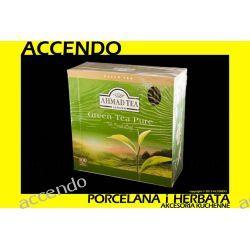 AHMAD HERBATA GREEN TEA ZIELONA 100 aluminowych