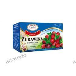MALWA TEA HERBATA OWOCOWA ŻURAWINA 20TB CERTYFIKAT