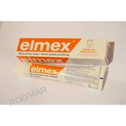 Pasta do zębów ELMEX Przeciw Próchnicy z aminofluorkiem 75ml Pielęgnacja zębów