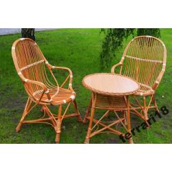 Fotele i stół najwyższa jakość  Wiklina Producent