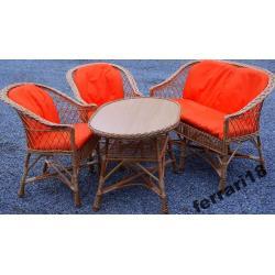 Fotele i stół + sofa meble ogrodowe Producent