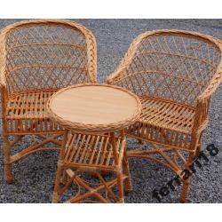 Fotele i stół meble ogrodowe + GRATIS PODUCHY