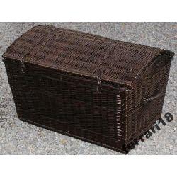 Kufer piracki skrzynia 90cm Przepiękny kolor wenge