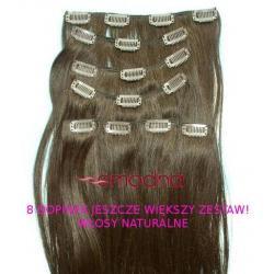 Włosy naturalne DOPINKADOPINKI 8TAŚM Clip-on52CM