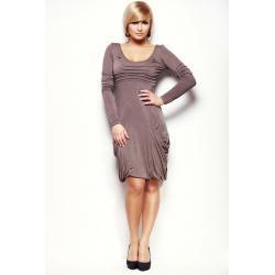 Sukienka Beżowy 293