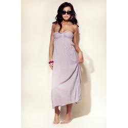 Sukienka Plażowa - kolor Lila