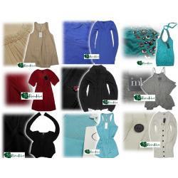 PAKIET OUTLET nowa odzież B.Young, VILA, ICHI, OBJECT ROZMIARY S/M - 10szt.