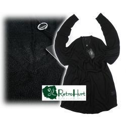 B.YOUNG czarny szeroki sweter - rozmiar M