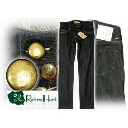 GLOBALFUNK ciemne jeansy 26/32