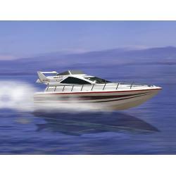 MODEL RC - ŁÓDŹ Atlantic , Jacht Elektryczny Zdalnie sterowana - Skala 1:10