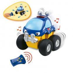 Smoby Vroom Planet Samochod Monster Truck Zdalnie Sterowany Z Dźwiękiem