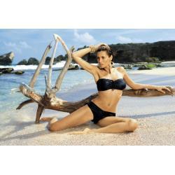 MARKO Strój Plażowy - Kostium Kąpielowy dwuczęściowy Shakira PT M-131 Czarny