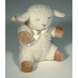 śpiąca owieczka w podróży