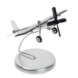 Samolot - model na podstawce (bateria słoneczna)