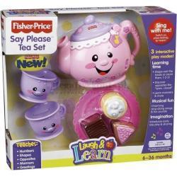 Serwis do herbaty - Fisher Price - zabawka interaktywna