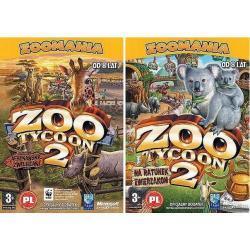 Zoo Tycoon 2: Afrykańskie zwierzaki (dodatek) Zoo Tycoon 2: Na ratunek zwierzakom (dodatek)