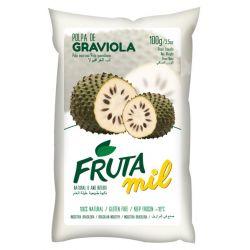 Graviola, Guanabana, Flaszowiec miąższ (puree owocowe, pulpa, sok z miąższem) bez cukru Owoce i warzywa