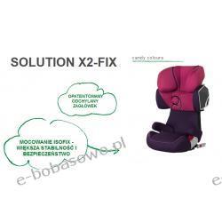 Cybex Solution X2-FIX ISOFIX CANDY COLOURS